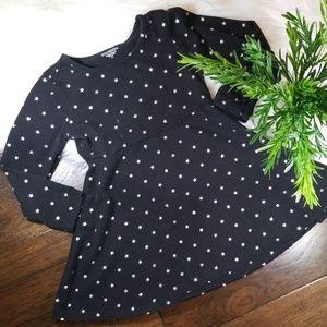 EUC Toughskins Star Long Sleeve Dress